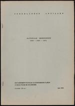 Nationale Rekeningen 1957-1960-1963
