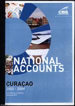 National Accounts Curacao 2003-2009