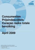 Consumenten Prijsindexcijfers April 2009