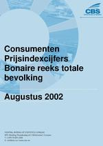 Consumenten Prijsindexcijfers Augustus 2002
