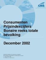 Consumenten Prijsindexcijfers December 2002
