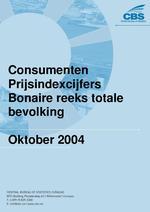 Consumenten Prijsindexcijfers Oktober 2004