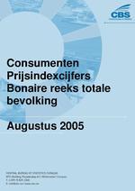 Consumenten Prijsindexcijfers Augustus 2005