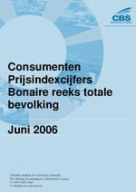 Consumenten Prijsindexcijfers Juni 2006