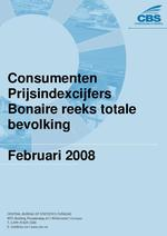 Consumenten Prijsindexcijfers Februari 2008