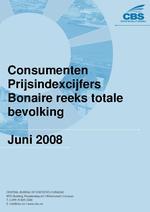 Consumenten Prijsindexcijfers Juni 2008