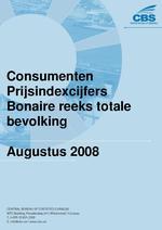 Consumenten Prijsindexcijfers Augustus 2008