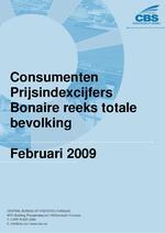 Consumenten Prijsindexcijfers Februari 2009