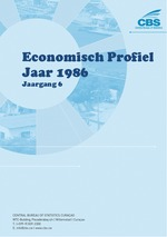 Economisch Profiel Jaar 1986, Jaargang 6