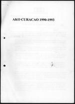 AKO CURACAO 1990-1993