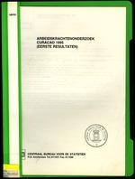 Arbeidskrachtenonderzoek Curacao 1995