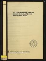 Vakatureonderzoek Curacao,Bonaire en St.Maarten 1995
