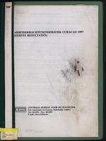 Arbeidskrachtenonderzoek Curacao 1997