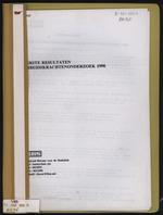 Eerste resultaten Arbeidskrachtenonderzoek 1998