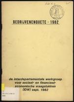 Bedrijvenenquete 1982