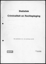 Statistiek Criminaliteit en Rechtspleging