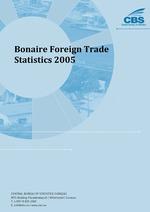 Bonaire Foreign Trade Statistics 2005
