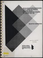 Bevolkingsvooruitberekening voor Aruba en CuraÒ«ao op basis van de bevolkingsomvang volgens den census van 1981