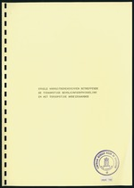 Enkele Vooruitberekeningen Betreffende De toekomstige Bevolkingsontwikkeling en het toekomstige arbeidsaanbod