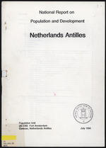 National Report on Population and development Netherlands Antilles