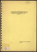 Alternatieve Berekeningen omtrent de toekomstige bevolkingsgroei van Aruba en Curacao in de periode 1974-2000