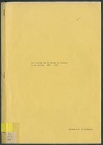 Het verloop van de sterfte op CuraÒ«ao in de periode 1960-1970