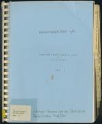 BudgetOnderzoek 1981, Consumptiepatronen 1981