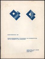 BudgetOnderzoek 1981, Nieuwe wegingsschema's ten behoeve van prijsindexcijfers van de konsumptie van huishoudens