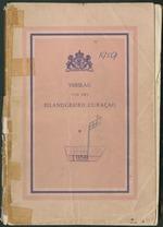 Verslag van de toestand van het eilandgebied Curacao 1959