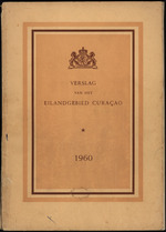 Verslag van de toestand van het eilandgebied Curacao 1960