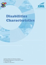 Disabilities Characteristics, Census 2011